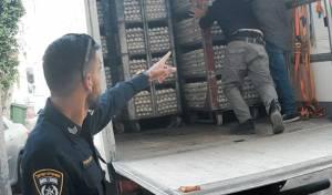 המשטרה תפסה כ-60 אלף ביצים מסוכנות