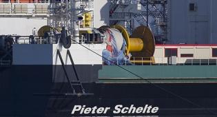 ספינת מנוף שנקראה על שם פושע נאצי פיאטר שלאט השם שלה יוחלף בעקבות לחץ של יהודים