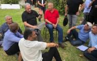 נתניהו בגבול הרצועה: נפסיק את ההתקפות