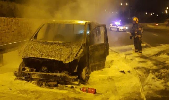 הרכב השרוף