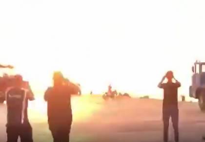 תיעוד דרמטי: מסריטים את האש, ו...עפים