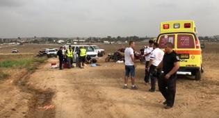 האופנוען הרג רוכב אופניים ונמלט מהמקום
