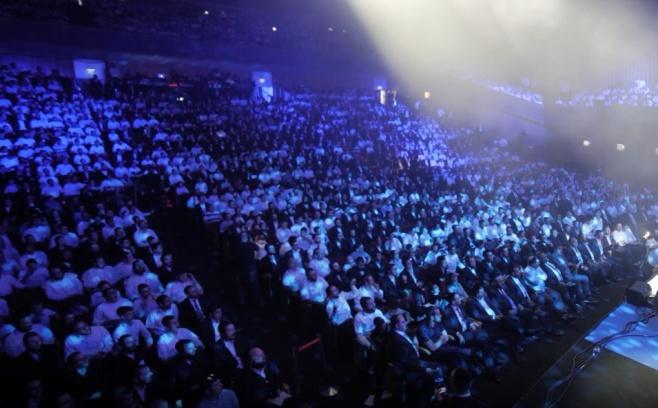 3000 צעירים שרו יחד את הלהיט של פריד