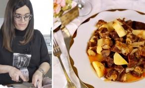 תבשיל בשר ראש חגיגי - צפו: תבשיל בשר ראש חגיגי של מורן פינטו