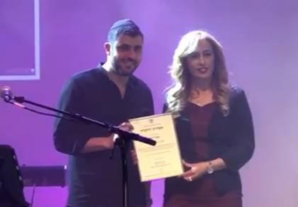 ישי ריבו זכה בכנסת בפרס 'יקיר הזמר העברי'