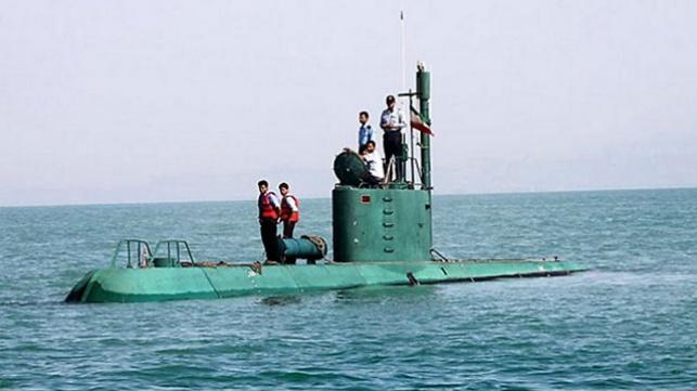 הצוללת האיראנית
