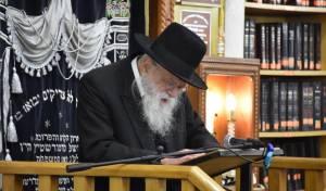 הרבנים הגיעו להספיד את 'הצדיק מבני ברק'