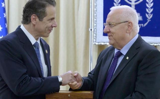 ריבלין ומושל ניו יורק, הצהריים