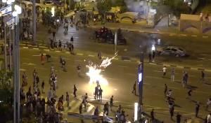 111 פצועים, 136 עצורים • תיעוד המשטרה