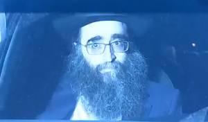 הרב יאשיהו פינטו ביציאה מהכלא