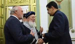 הנשיא, הרב עמאר והרב הראשי לוונצואלה