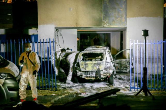 האלימות בלוד לפני כחודש