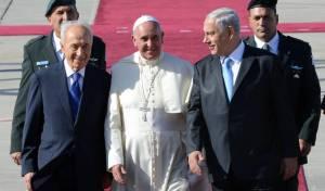 האפיפיור, נתניהו ופרס