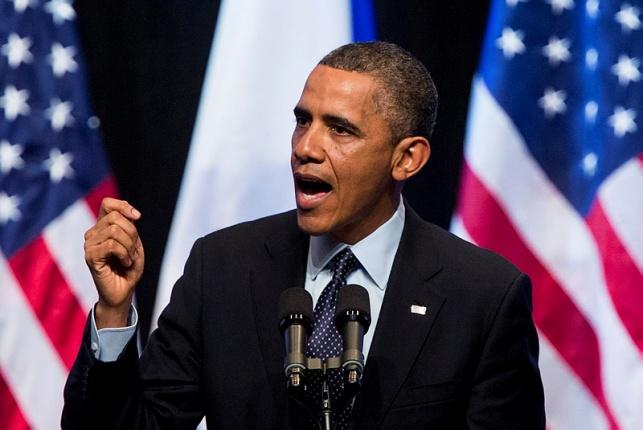 הנשיא אובמה בביקורו בישראל