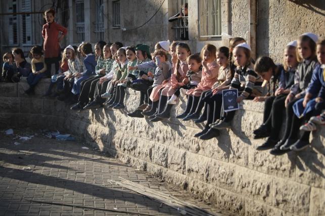 ילדים במאה שערים, בעשרת ימי תשובה