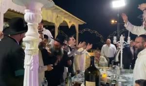 """בחוף: החתונה שמסעירה את צמרת ש""""ס"""