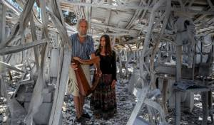 אחרי 40 שנים: מפעל כלי הנגינה - נשרף