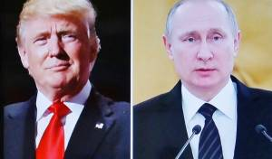 """פוטין וטראמפ - פוטין: """"ארה""""ב תנסה להתערב בבחירות ברוסיה"""""""