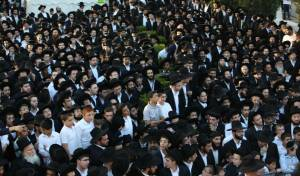 כינוס הרבנים הספרדים נגד חוק הגיוס • גלריה