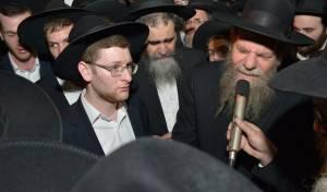 """בנו של הגר""""י, הרב מרדכי שלמה אדלשטיין מספיד"""