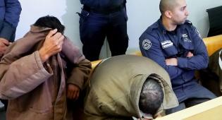 """הסייענים בבית המשפט - ביהמ""""ש גזר את עונש  סייעני המפגע מת""""א"""
