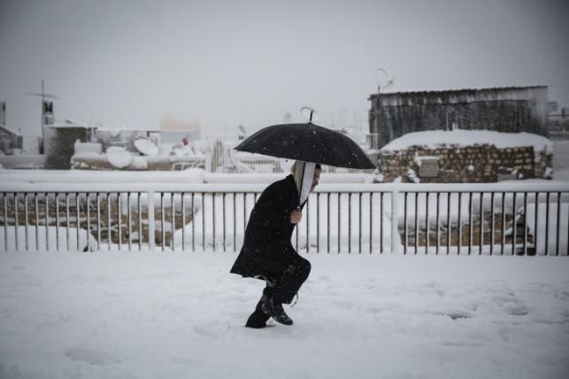 שלג בירושלים, ארכיון