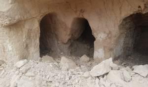 מזעזע: ערבים מיריחו בזזו את מערת הקבורה