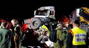 נהג המשאית שהרגה 2 חיילים שוחרר לביתו