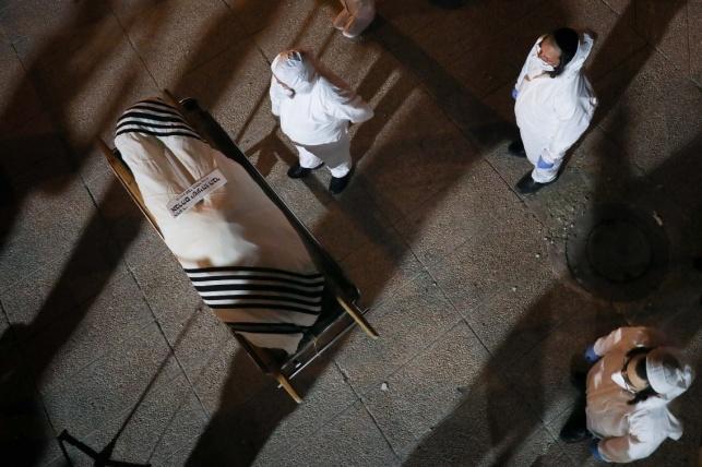 הלוויה ב'קורונה'