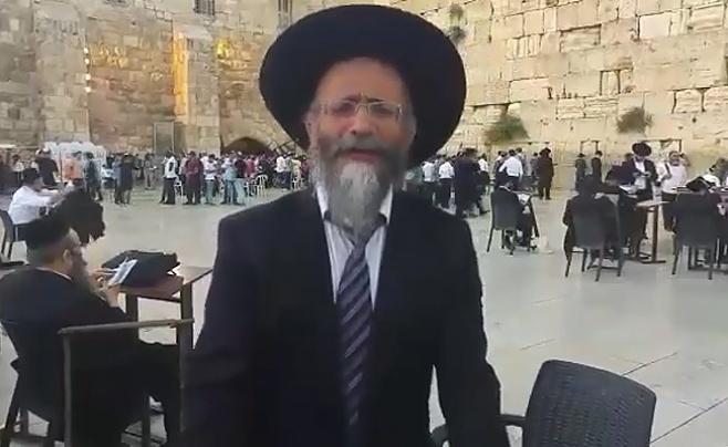 הרב מיכאל לסרי לא נשבר • צפו בווידאו
