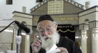 """מזקני חסידי חב""""ד: הרב שמואל שניאורסון"""