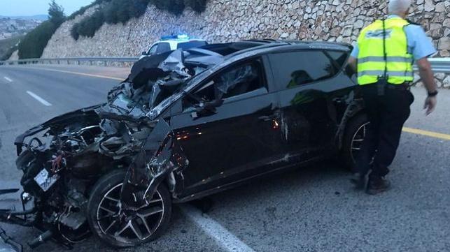 התאונה בכביש 6400