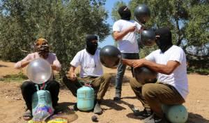 """למרות תקיפות צה""""ל: טרור הבלונים נמשך, חמש שריפות"""