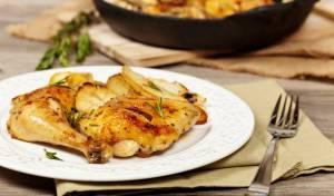 עוף עם ארטישוק ירושלמי (בטטה קסבייה) - לכבוד שבת: עוף וארטישוק ירושלמי