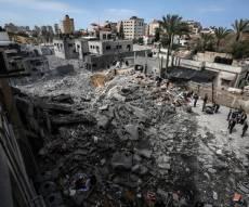 תוצאות תקיפה ישראלית השבוע בעזה
