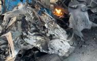 רכב הניסאן, שהשמיד את עצמו בתום הירי