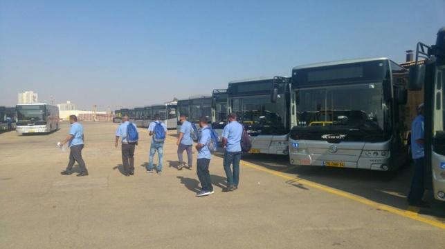 האוטובוסים בבאר שבע. אילוסטרציה