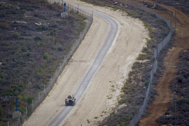 הגבול עם לבנון