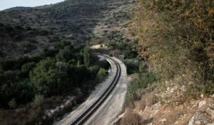 מסילת רכבת. אילוסטרציה