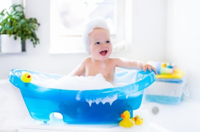 ובכן, לא כל יום: באיזו תדירות יש לקלח תינוק