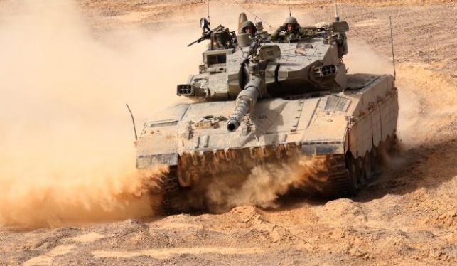 """אילוסטרציה - מטען הופעל נגד כוח צה""""ל; מטרות חמאס הותקפו בתגובה"""