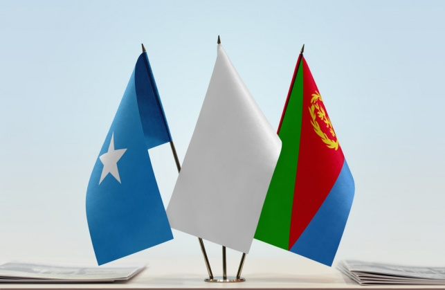 דגלי אריתראה וסומליה