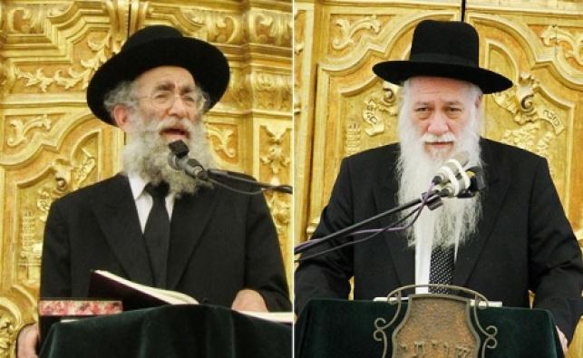 רבי אליעזר כהנמן ורבי שמואל מרקוביץ'