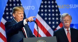טראמפ הדיח את ג'ון בולטון שהתנגד לאיראן