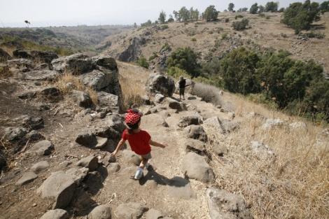 נחל דבורה - בשל סכנה: מסלול הג'ילבון הארוך נסגר