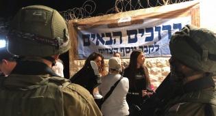 הערבים התפרעו: תפילה בקבר יוסף בשכם