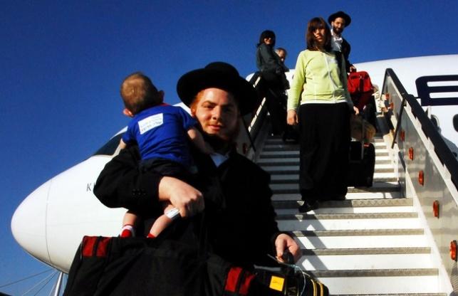 נוחתים בישראל. אילוסטרציה
