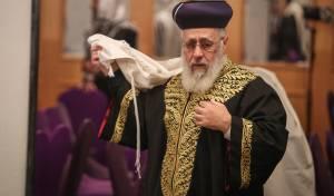 """הראשון לציון הגאון רבי יצחק יוסף - הראשל""""צ: """"חורשי מזימות מתייצבים לנגדי"""""""