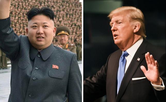 """טראמפ לג'ונג און: """"הכפתור שלי גדול יותר"""""""