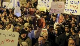 """הפגנה מול ראש הממשלה: """"סיימנו לשתוק"""""""
